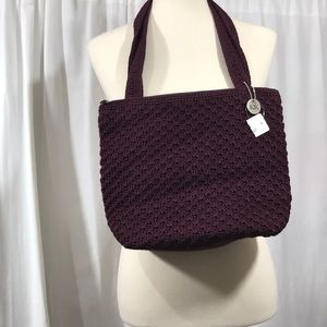 NWT The Sam Bag with Wallet Wine Color